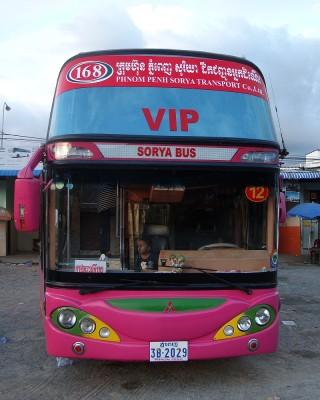 Автобус Сиануквиль - Пном-Пень