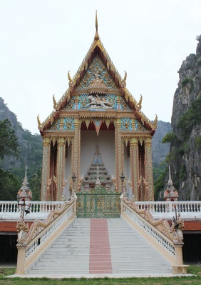 Храм с обезьянками