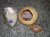 Мякоть и сок кокоса