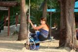 На пляже Mae Haad