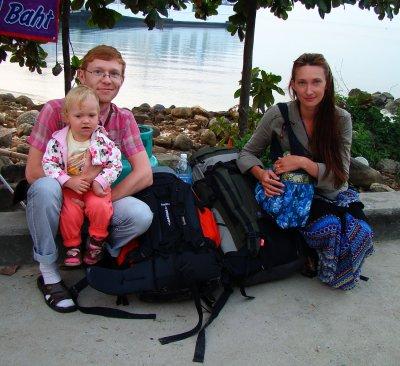 Покидаем остров Панган